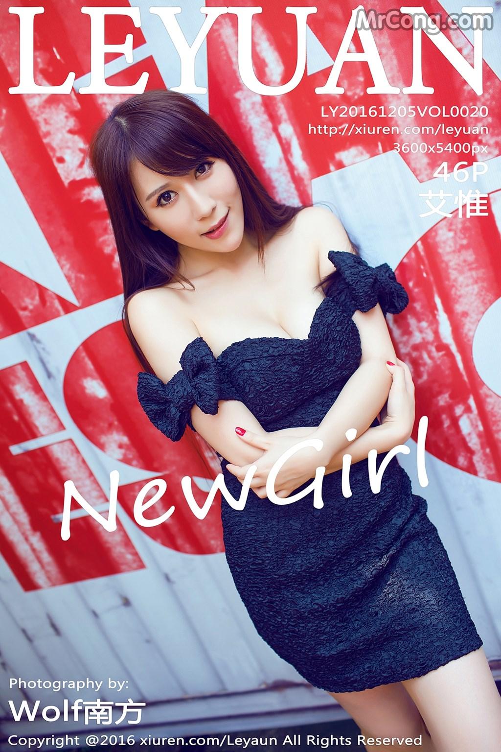 LeYuan Vol.020: Người mẫu Ai Wei (艾惟) (47 ảnh)