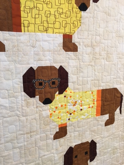 Cozy Little Quilts Dogs In Sweaters Quilt And Garden