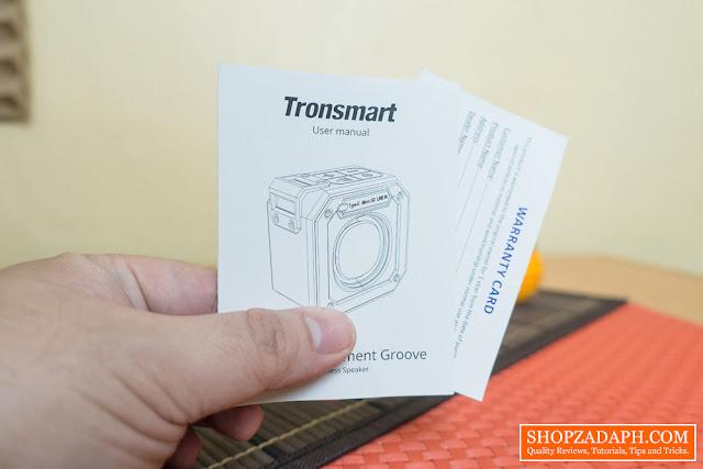 tronsmart element groove wireless speaker