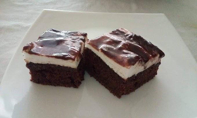 Mančmelou kolac - Domaći Munchmallow