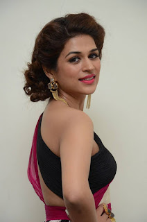 Actress Shraddha Das Latest Stills in Stylish Dress at tur Talkies Audio Launch  0007.jpg