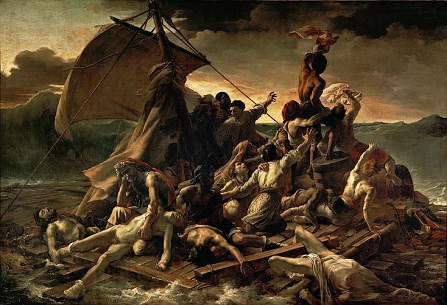Theodore Gericault, The Raft of Medusa, 1819_psartworks.in