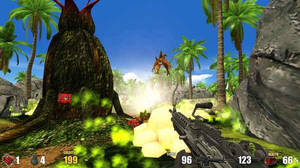 Action Alien Tropical Mayhem Full Version