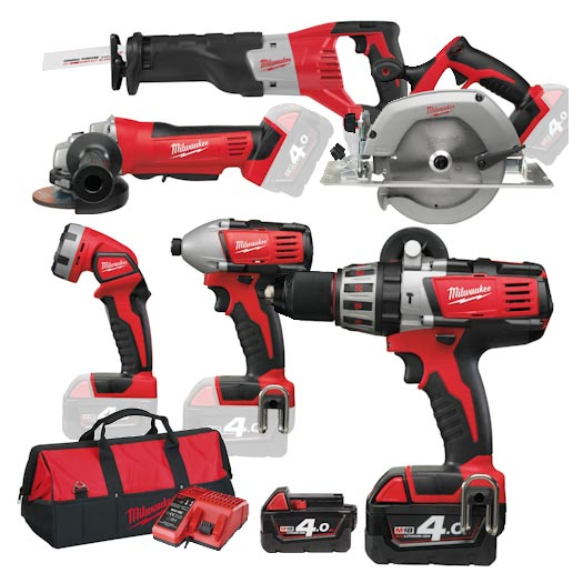 What are the differences between the hand tools and power tools?