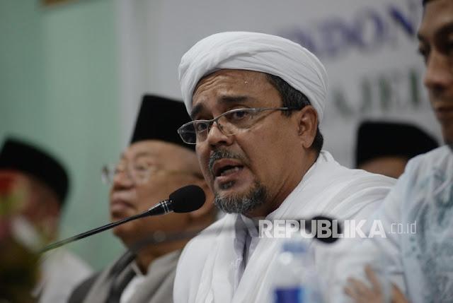 Terkait Prabowo Atau Jokowi, Ini Instruksi Habib Rizieq