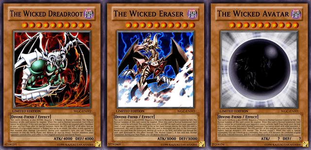 Wicked God adalah kartu yang dibuat Pegasus untuk menyaingi kekuatan 3 Egyptian God
