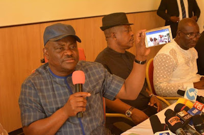 Rivers rerun fake result sheet scandal: INEC and Police colluding with APC to rig – Governor Wike