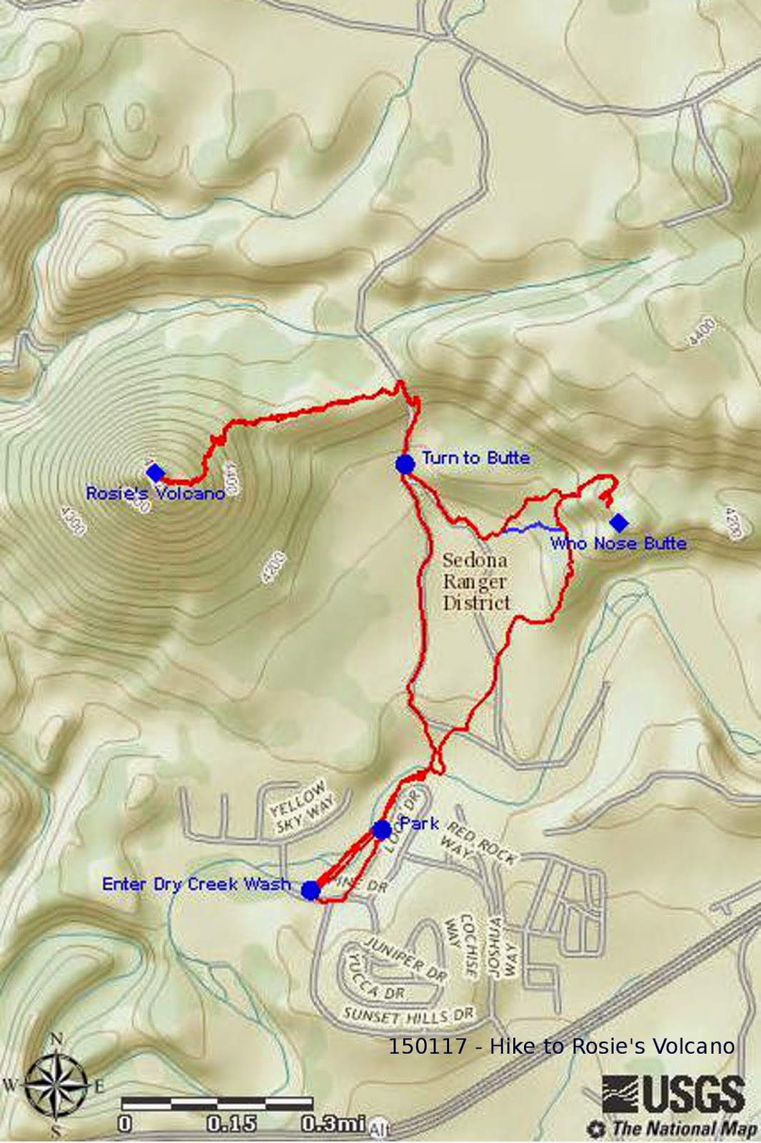 this hike was 4 0 miles total the highest elevation was 4654 feet and the total ascent was 1126 feet