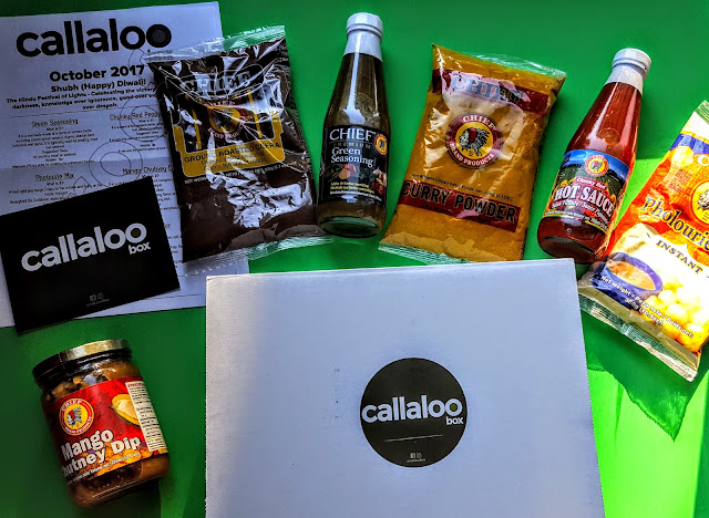 what's in the callaloo box