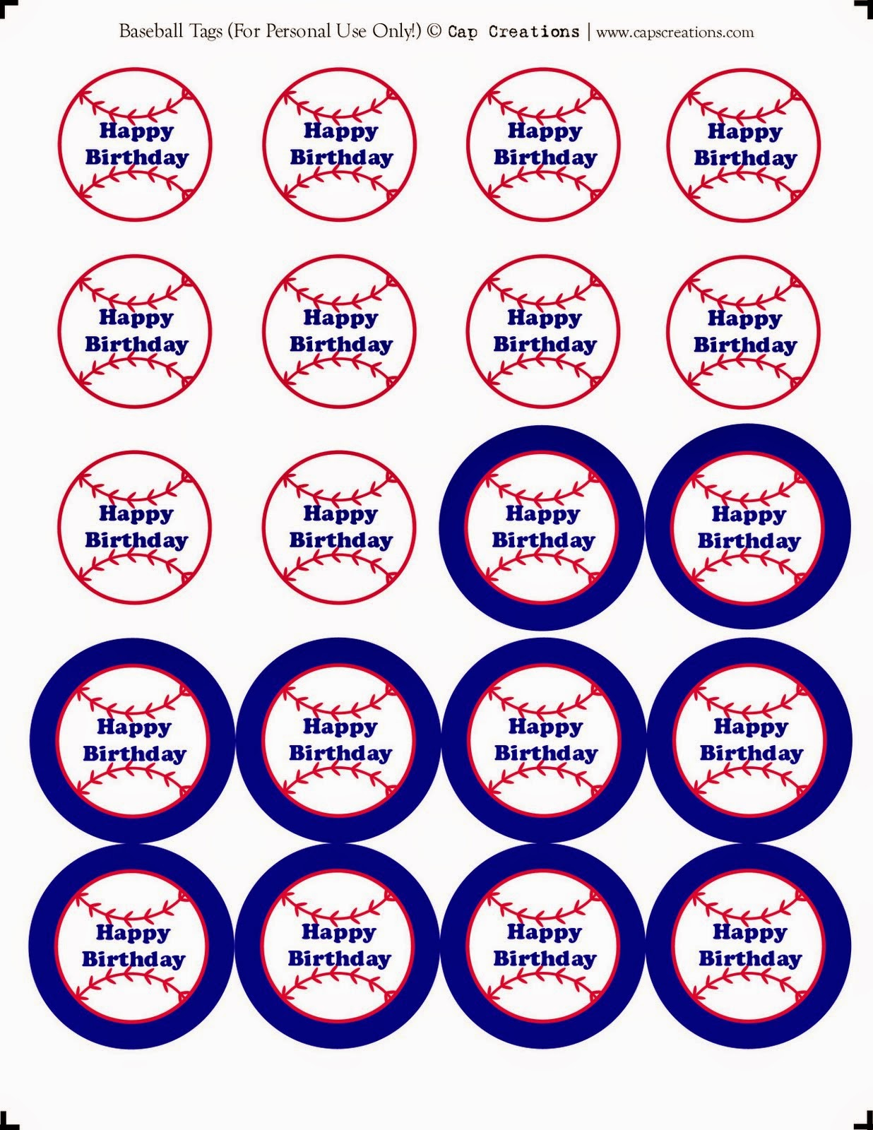 graphic relating to Free Printable Baseball Tags identified as Baseball Mini Package. - Oh My Fiesta! in just english
