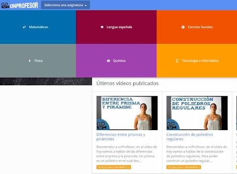 UNPROFESOR: Plataforma de aprendizaje para educación Primaria y Secundaria