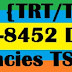 Telangana {TRT/TST} TS DSC 2017-8452 District wise vacancies Apply Online @ tspsc.gov.in