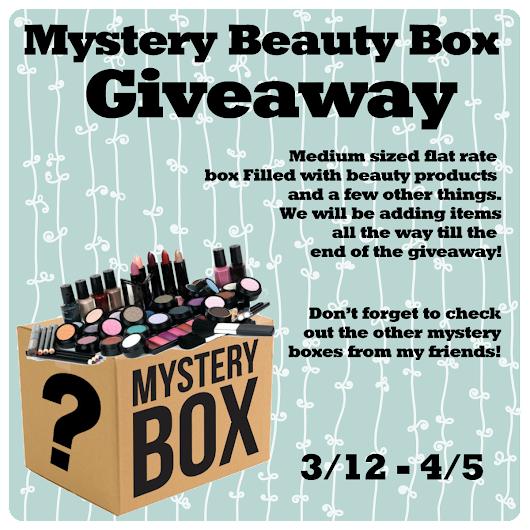 Life of a Mad Typer Mystery Beauty Box Giveaway!!