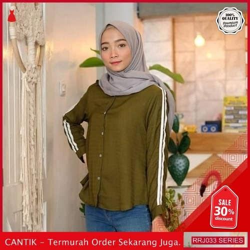 Jual RRJ033A75 Atasan Baju Wanita Wanita Indriana Top Best BMGShop