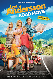 Póster: Los Andersson: Road Movie (2013)