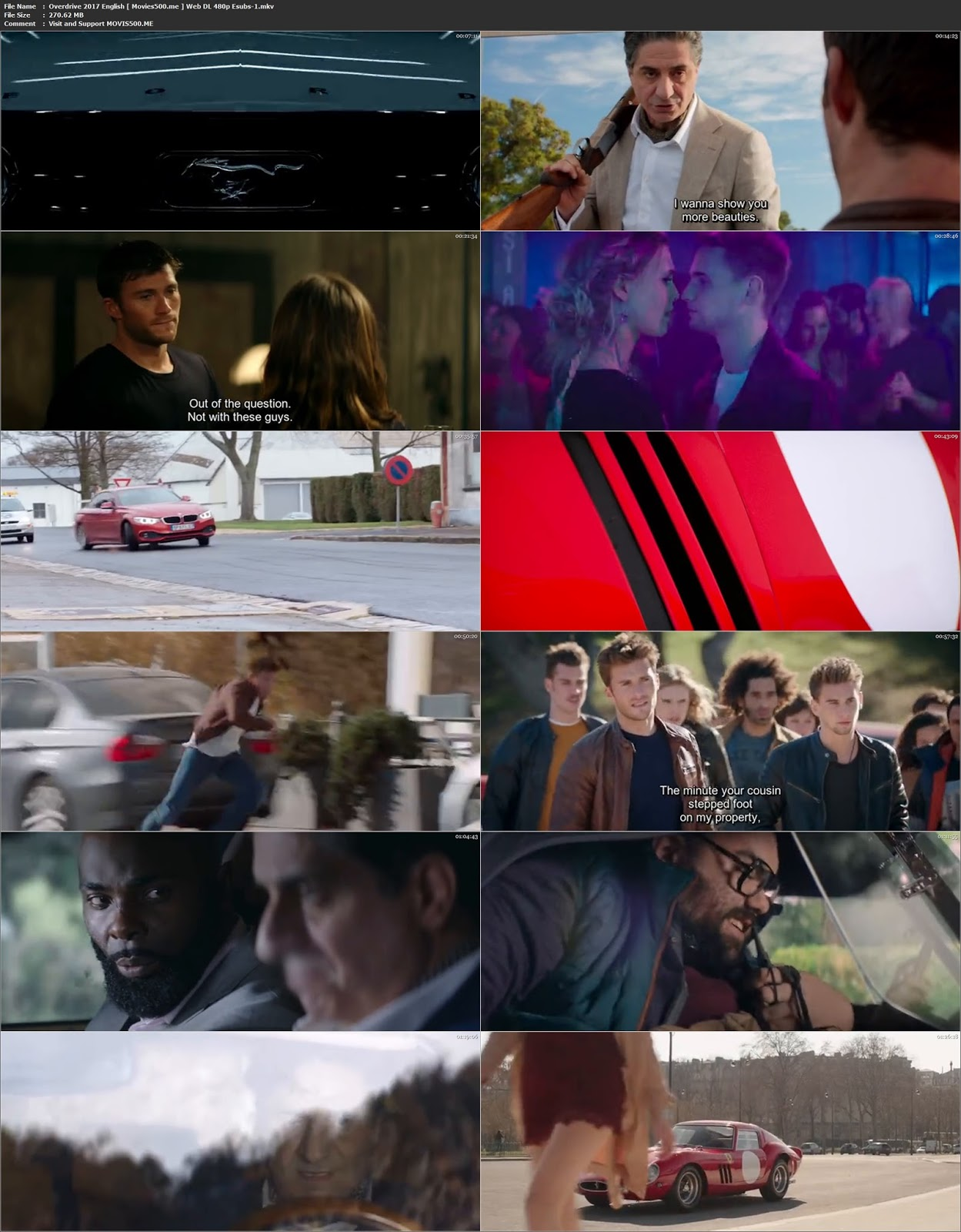 Overdrive 2017 Hollywood 270MB WEB DL 480p at movies500.site