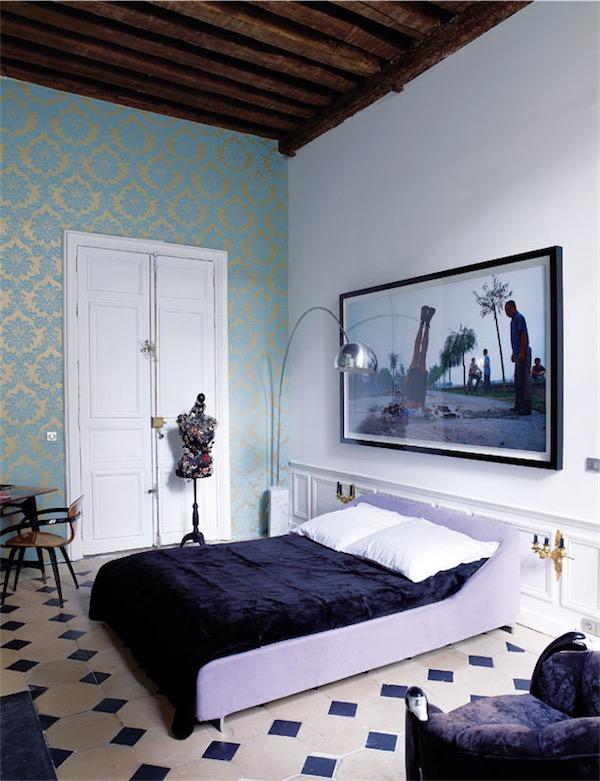 dormitorio eclectico chicanddeco