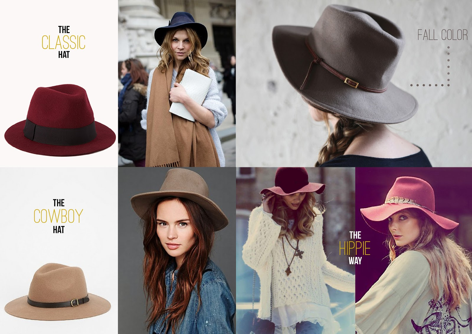 105b6453d16 The Folklore Inc  How to wear  HATS FOR FALL