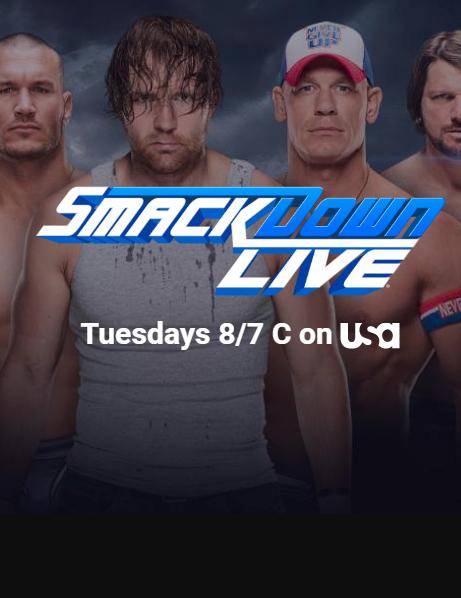 مشاهدة وتحميل عرض المصارعة الاسبوعي WWE Smackdown Live 18.07.2017 مترجم