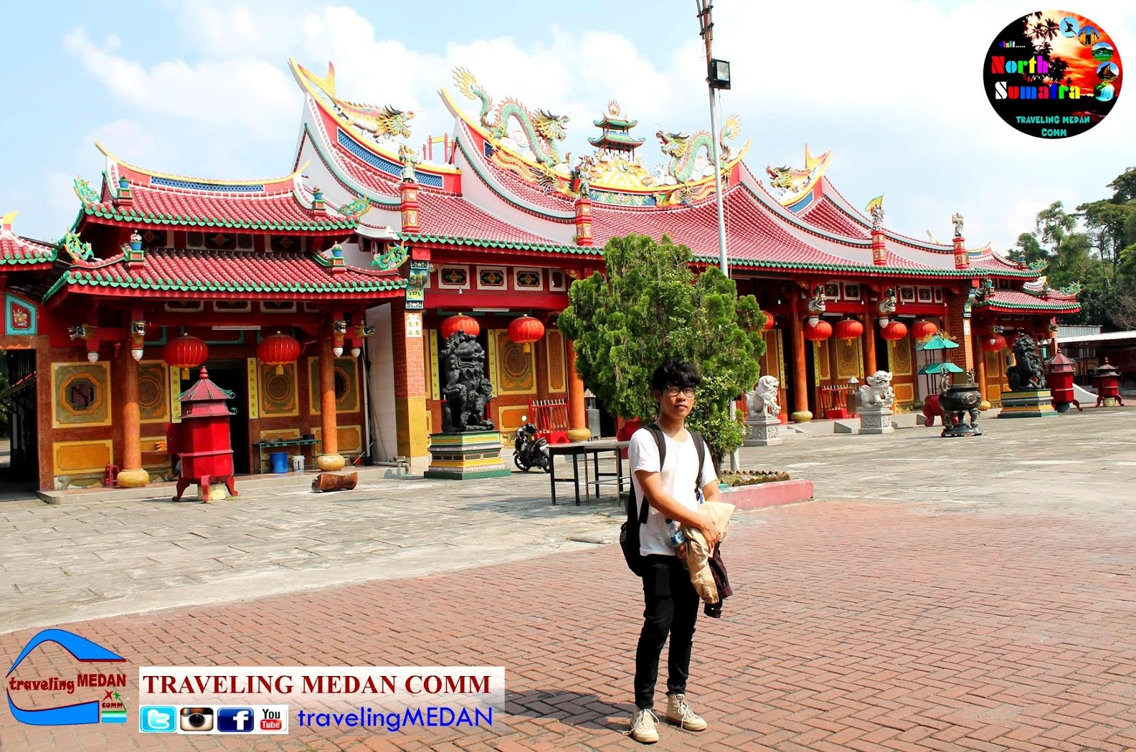 Tempat Wisata Religi di Kota Medan | Traveling Medan Comm
