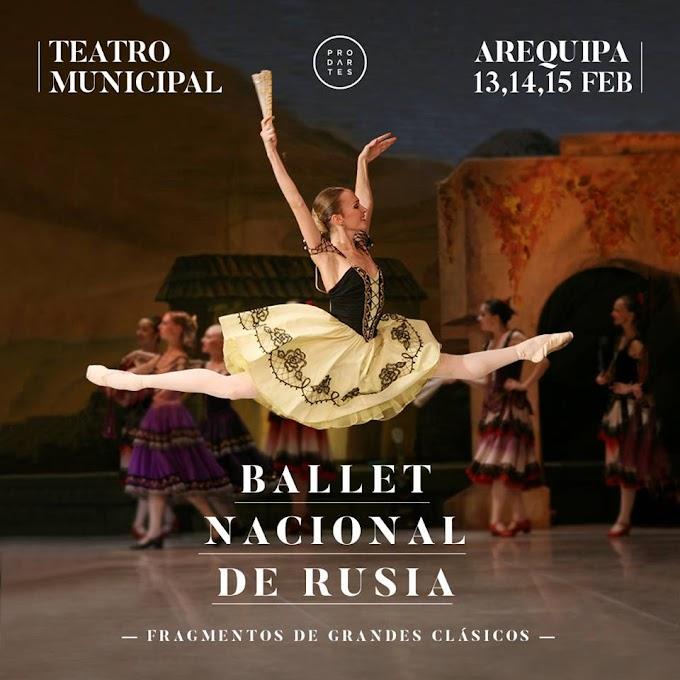 Ballet Nacional de Rusia - Gala de Solistas - del 13 al 15 de febrero