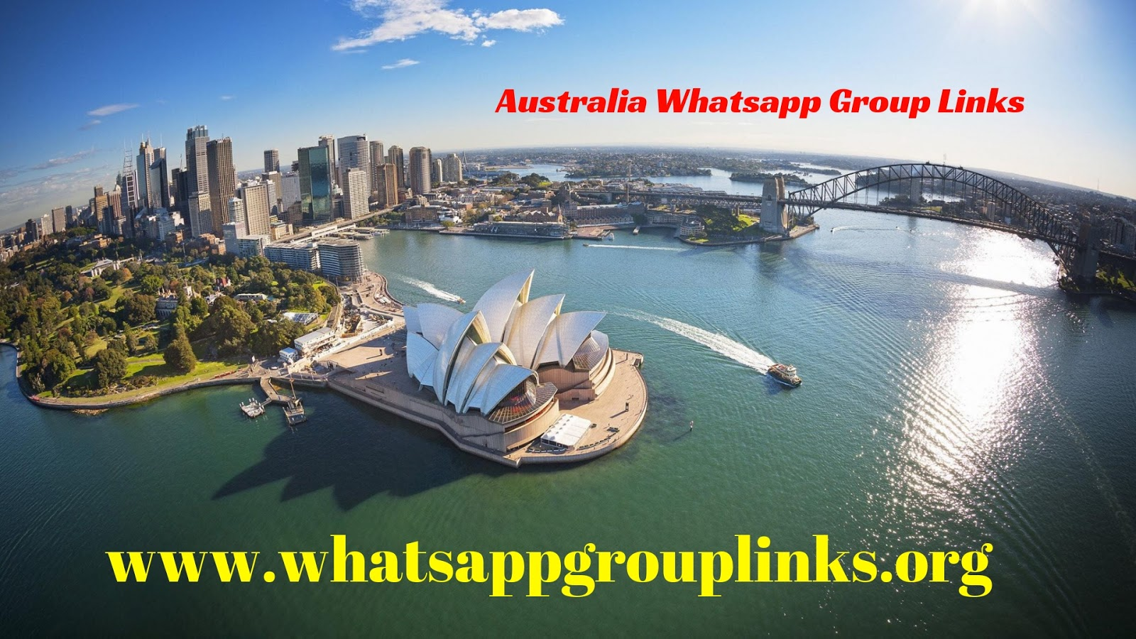 Join Australia Whatsapp Group Links List - Whatsapp Group Links