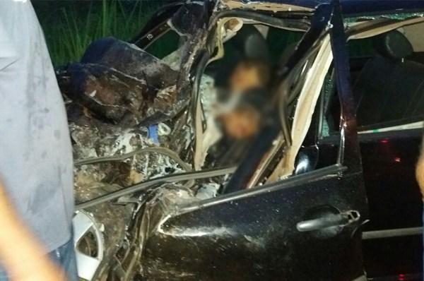 Acidente grave na BR 364 envolvendo caminhão mata uma pessoa nesta sexta