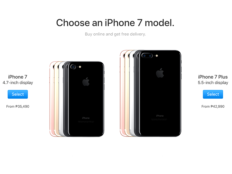 Apple PH Website Slashes Prices Of iPhone SE, 6, 6s, 7, And 7 Plus!