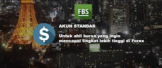 akun standar broker forex fbs