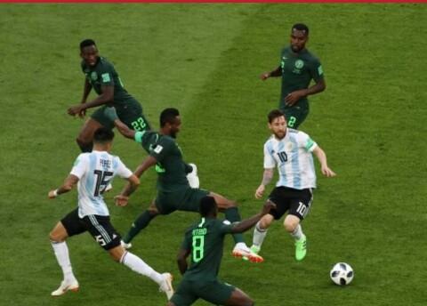 Nigeria vs Argentina : World cup