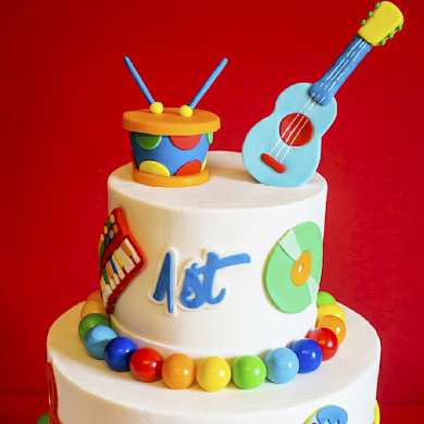 Baby Jam Music Inspired 1st Birthday Party