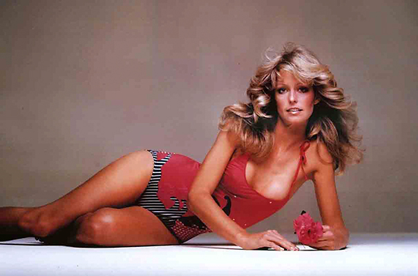 How The Female Body Standards Have Been Altered Over 100 Years - Farrah Fawcett
