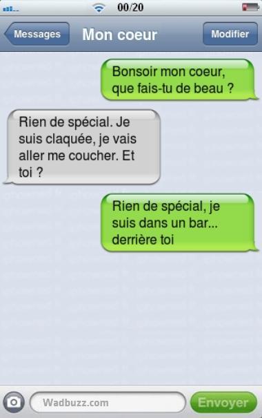 Exemple de sms de drague - sms d amour - texto pour seduire