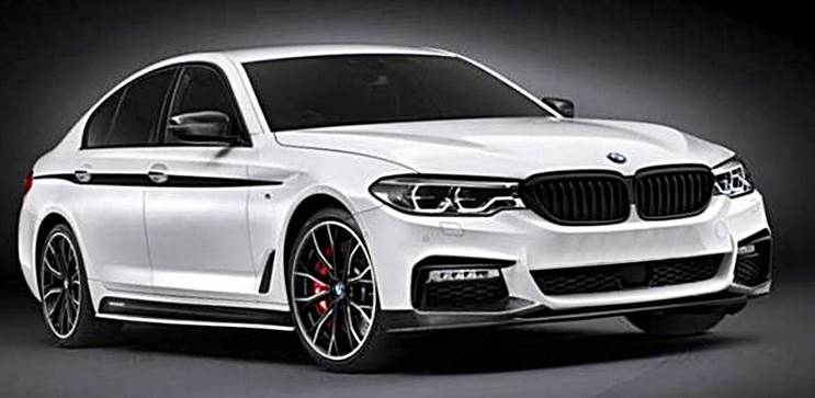 2017 bmw 5 series sedan with m performance accessories auto bmw review. Black Bedroom Furniture Sets. Home Design Ideas
