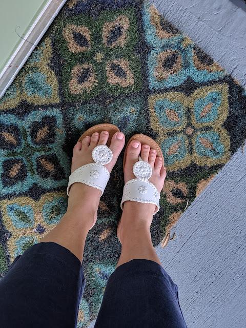 Jack Roger Dupe Sandals www.kristenwoolsey.com