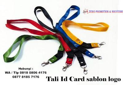 Jual Tali Id Card sablon logo