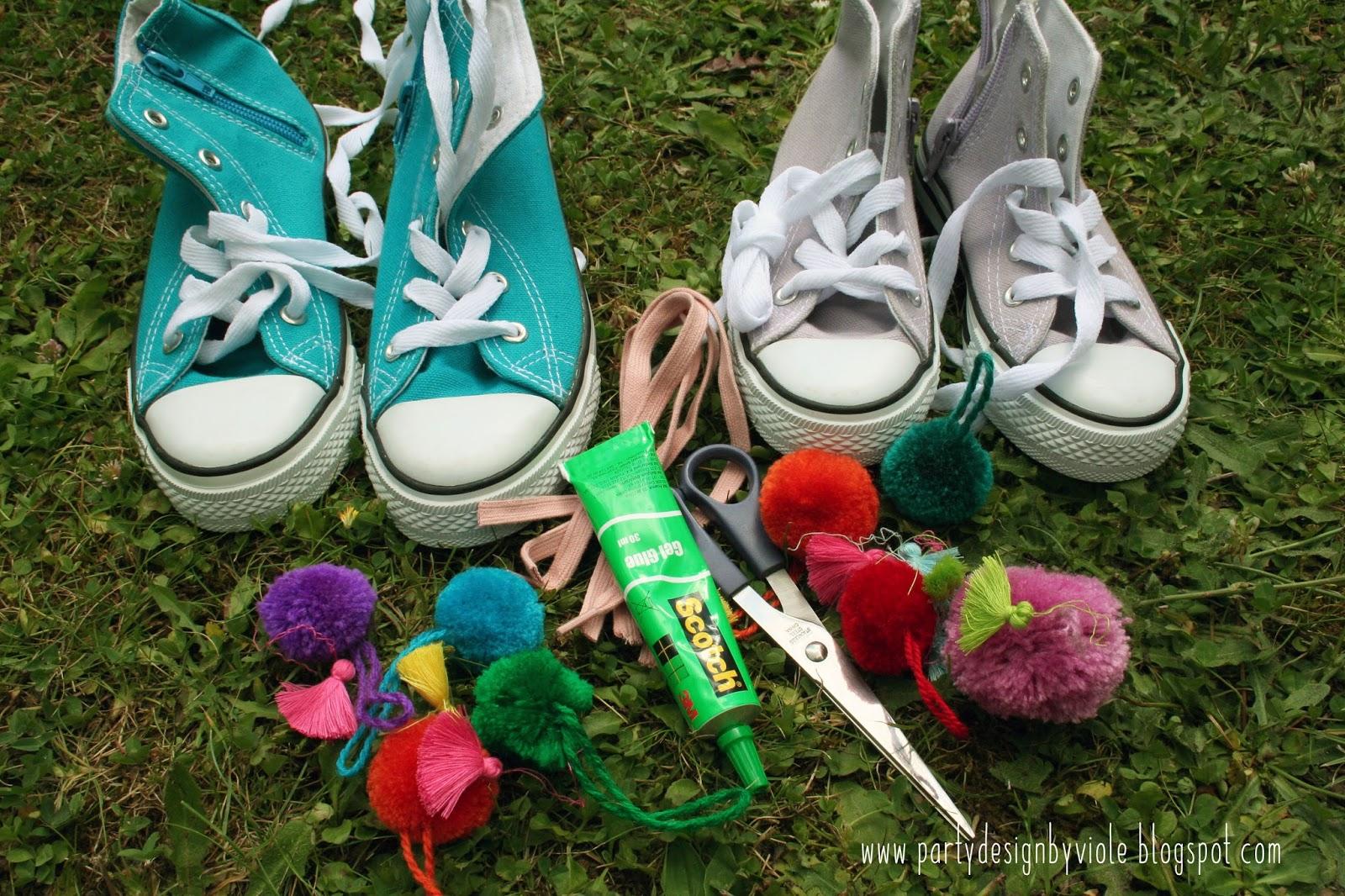 Colorful back to school project freebies sign diy - Pompones para zapatillas ...
