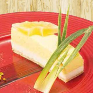 パインと レアチーズのムース