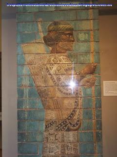 Friso persa en el British Museum