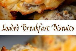 Loaded Breakfast Biscuits