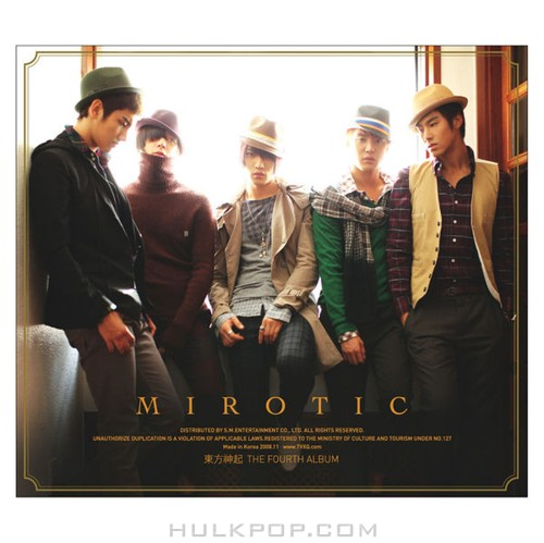 TVXQ – MIROTIC – The 4th Album Special Edition (FLAC)