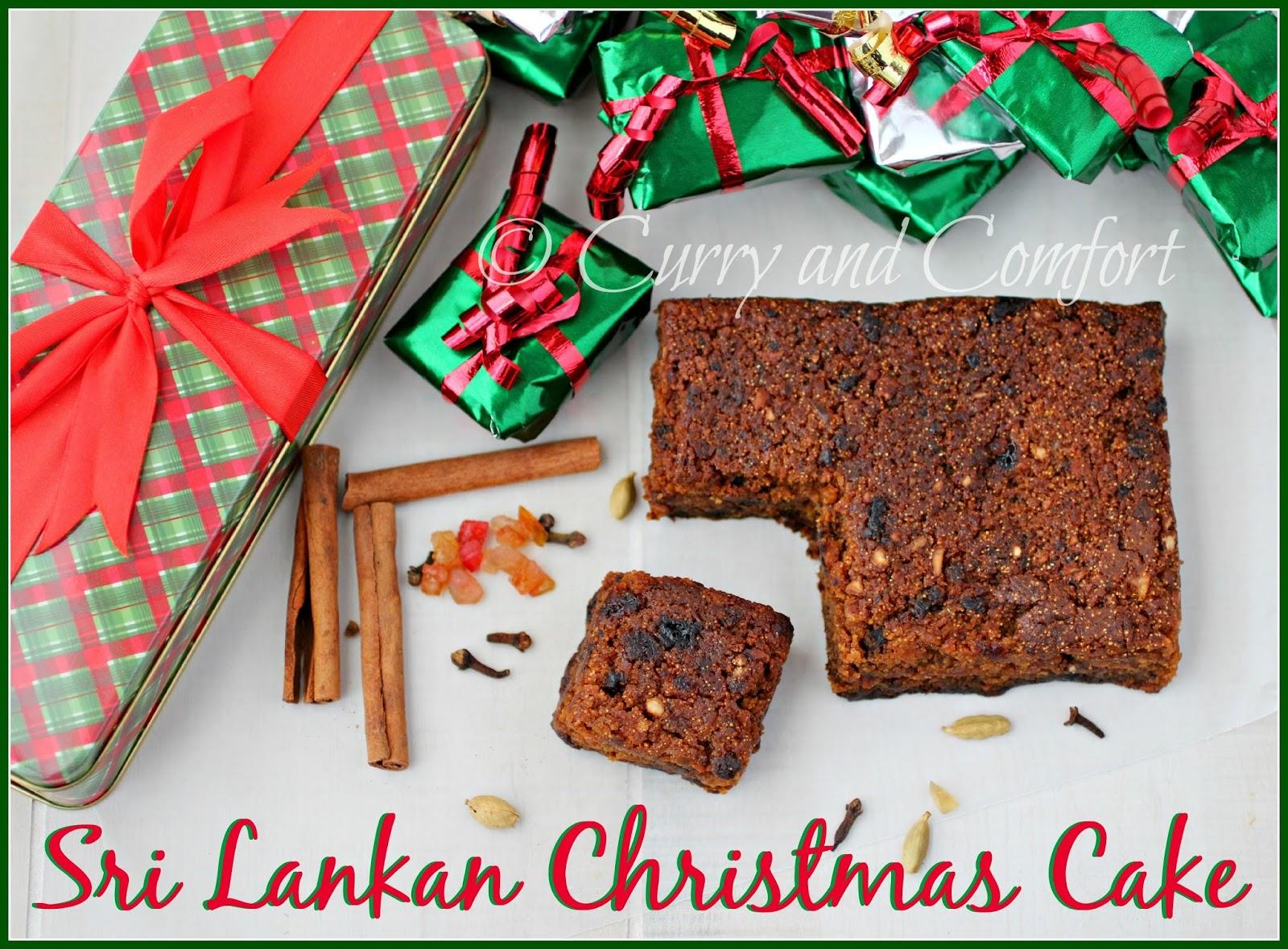 Kitchen Simmer Sri Lankan Christmas Cake