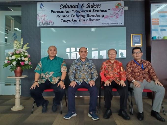 Pembukaan Koperasi SENTOSA di Bandung, Jawa Barat