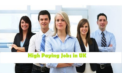 High Paying Jobs in UK