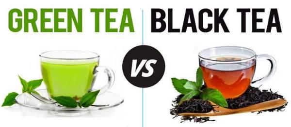 Perbedaan teh hijau dan teh hitam