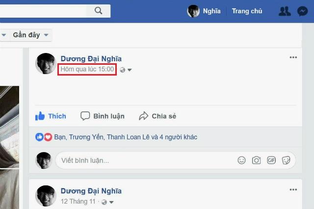 cách lấy id status facebook 2