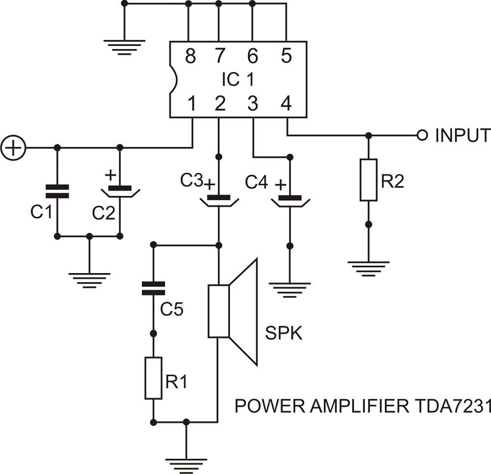 TDA7231 PDF