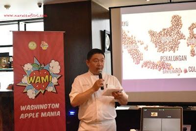 chef stefu menjelaskan menu ramadhan di amuz gourmet restaurant
