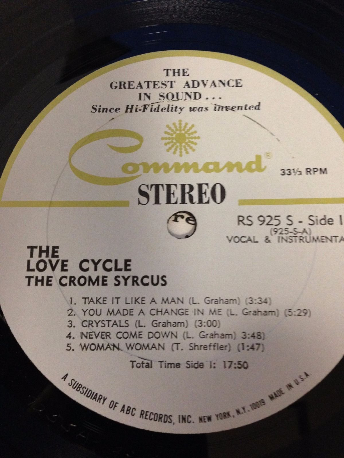The Crome Syrcus Love Cycle