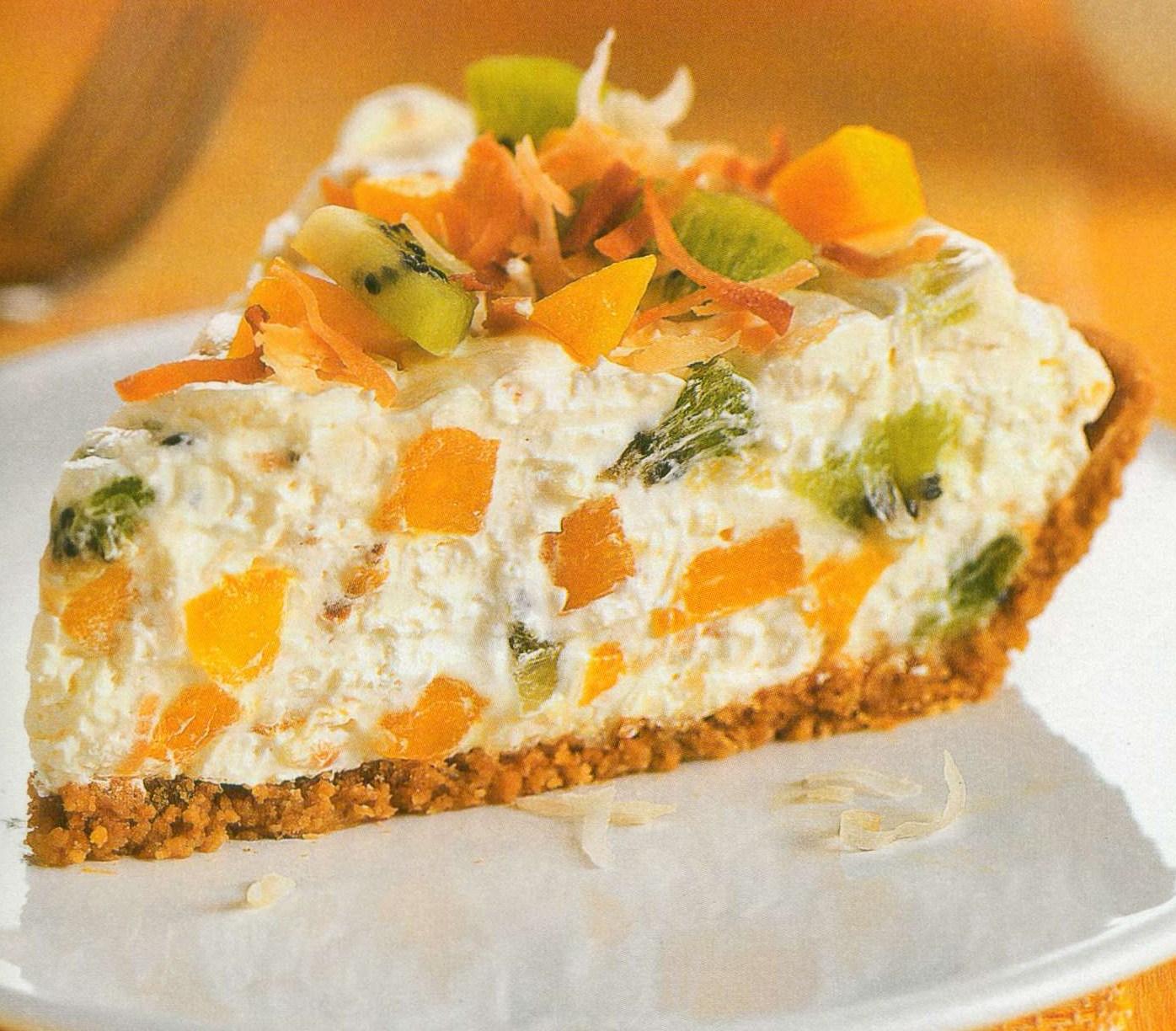 Raw Pavlova Cheesecake